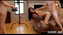 Talented teen sluts demonstrate their skills at the casting preview image