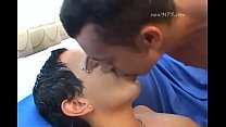 Gay Hot Spit Kissing Part 2