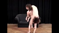 Naked Lifting - Carrie & Zia