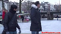 15325 Amsterdam tourist rims real hooker on camera preview