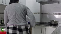 Fucking while making food in the kitchen IV001 Thumbnail