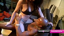 Megan Coxx gets the cleaners BBC at Babestation