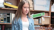 Brooke Bliss Blackmailed And Fucked By Store Detective video