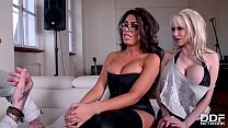 Rhythmic Exercises - Two Busty Babes Get Fucked...