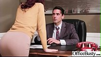 Hot Sex In Office With Big Round Boobs Girl (Mo...
