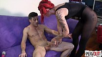 Ariel Kay Roommate Control with Lance Hart PANTYHOSE EDGING FEMDOM