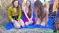 Izzy Lush, Samantha Hayes, Avery Moon In Hiking With Pussy