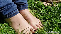 16589 I Want You to Cum ALL Over my Oiled Up Little FEET - PUBLIC foot show! preview
