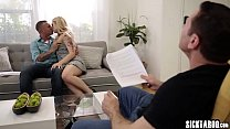 Sexy MILF banged by a perverted guy and a director