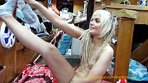 BoatBabesXXX - Sexy Lexi Shows Us Downward Facing Dog In Her Naked Yoga Workout's Thumb