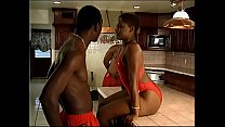 13869 One horny sistas knows how to work with two black dicks in the kitchen preview