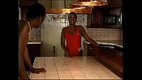 13836 One horny sistas knows how to work with two black dicks in the kitchen preview