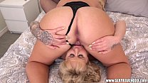 Hot Blonde MILFs Ryan Conner & Karen Fisher Girl on Girl's Thumb