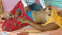 Indian newly married couple first-time fuck wit...