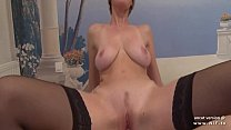 Gorgeous amateur big boobed french blonde analyzed n jizzed on tits thumbnail