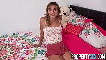 PropertySex - Insane hot nympho roommate almost kicked out - 9Club.Top