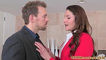 CFNM femdom Lily Love fucking for a deal Image