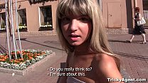 Tricky Agent - Fake blond girl Gina Gerson is hot and ready to fuck!