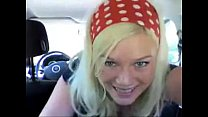 11176 blonde girls fingers pussy and ass in car preview