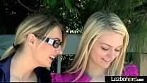 Horny Lesbo Teen Girls (Natalia Starr & Alli Rae) Make Love On Cam video-21