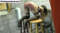 Alasandra's Punishment Room Caning Starring Ala