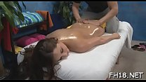 Hawt 18 year old girl gets drilled hard by her massage therapist!