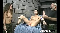 Bare chicks roughly playing in bondage xxx amateur video pornhub video