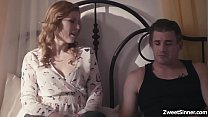 Hot MILF  Ella Nova as she spreads her pussy and got drilled by her handsome neighbor Nathan Bronson until they both erupting into satisfying orgasms.
