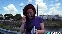 Amateur Redhead White Girl Emma Evins Gives Up ... Thumbnail