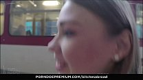 7808 BITCHES ABROAD - Hot Russian tourist teen Selvaggia enjoys banging foreign cock preview