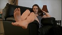 8426 Licking Olivia's Toes - Feet Worship preview