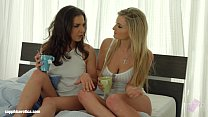 Hot Morning featuring Henessy and Jemma Valentine by Sapphic Erotica lesbian ana - 9Club.Top
