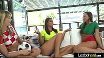 (Rilynn Rae & Abigail Mac & Kenna James) Lesbian Lovely Teen Girl In Sex Action Tape movie-2's Thumb