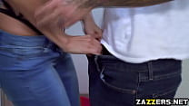 17759 Slutty step mom blowjobs her stepsons big throbbing cock preview