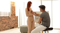 Redhead Amber Cute Gets Her Ass Fucked - Erotic...
