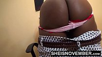HD Black Secretary Gets Ass Spanking From Kinky BDSM Fetish Boss And Booty Hole Close-up For Punishment Sheisnovember صورة