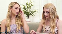 WebYoung Lily Larimar Comforts Her BFF's Pussy After She Got Refused From College