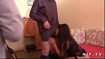 Frenc milf gets her ass fisted and fucked