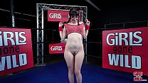 """GIRLS GONE WILD - 19 Year Old Texan Teen """"Isabel"""" Cums In The Boxing Ring thumbnail"""