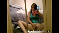 Super Hot Teen with Nice Tits Masturbating on Live Webcam