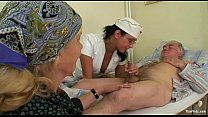 Old Man's And Nubile Nurse Fuck
