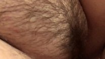 Hairy pussy And white dick fucking at home