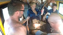 Ultimate Hardcore Orgy in Czech BANG Bus