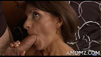Mamma satisfies her starving cunt thumbnail