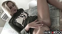 Small tit Russian Vinna Reed pounded by lucky big foreign dick