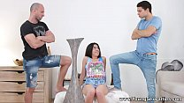 Young Sex Parties - Magic threesome for teeny Katty West thumbnail