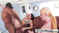 Jayden And Sophie Return To Black Cock