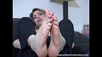 Mature chick foot masturbation instructions preview image