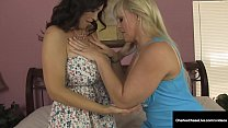 Muff Diving Milfs Charlee Chase & Alexis Golden Pussy Party!