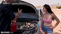 Valentina Nappi goes skinny dipping her roadside mechanic - alyson hannigan nude thumbnail